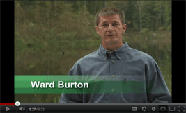 Going Green With Ward Burton